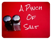 Pinch of salt